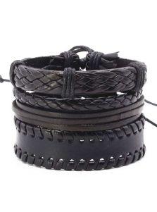 Набор кожаных браслетов - Астапор