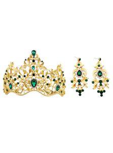 Набор украшений - Королевы (Зеленый)