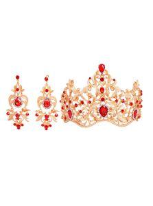 Набор украшений - Королевы (Красный)