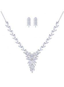 Набор украшений - Кристальные листья