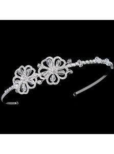 Ободок для невесты - С цветочками