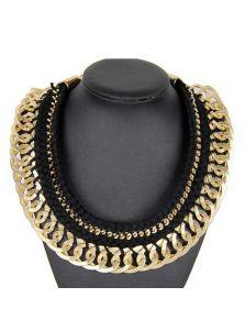 Ожерелье - Вязанное