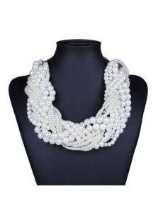 Ожерелье - Жемчужный переплет