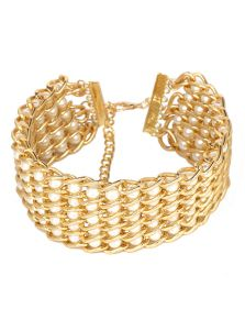 Ожерелье-чокер - Жемчуг в цепи