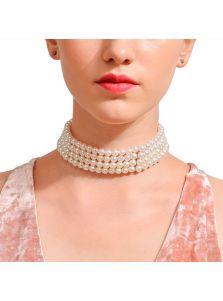 Ожерелье-чокер - Жемчужина