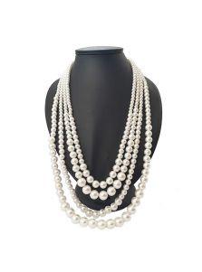 Ожерелье из жемчуга - Многослойное