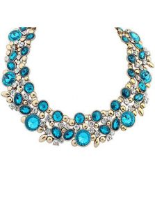 Ожерелье - Круглые кристаллы