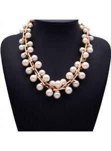 Ожерелье - Модный жемчуг