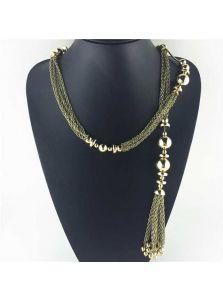 Ожерелье-цепочка - Защип