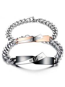 Парные браслеты - Любовь