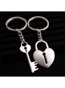 Парные брелоки для влюбленных - Ключик от сердца