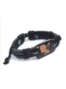 Парные кожаные браслеты - Сладкая парочка