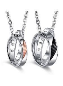Парные кулоны - Двойные кольца