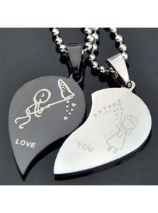 Парные кулоны - Love уou