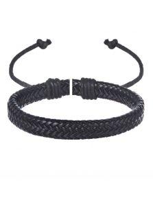 Плетеный браслет - Змеиная кожа