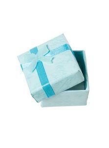 Подарочная коробочка - Квадратная с бантиком