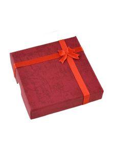 Подарочная коробка - С бантиком