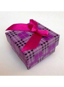 Подарочная упаковка - В клетку