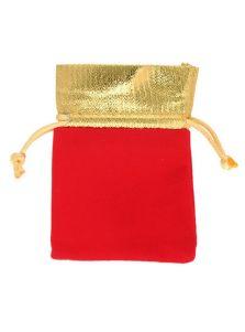 Подарочный мешок - Золотая отделка