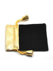 Подарочный мешок - Золотая полоса