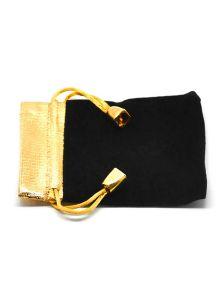 Подарочный мешок - Золотая полоска