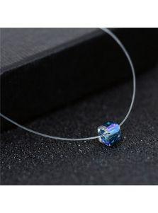 Подвеска на леске - Квадратный кристалл