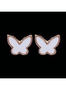 Серьги-бабочки - От Van Cleef