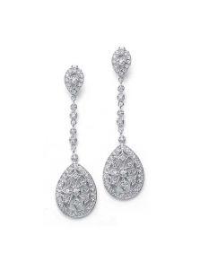 Серьги - Длинные кристаллы