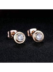Серьги-гвоздики - Алмазный блеск