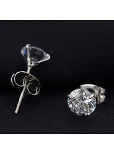 Серьги-гвоздики - Воздушный камень