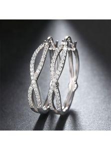 Серьги-кольца - Бескрайность
