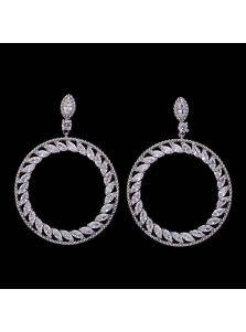 Серьги-кольца - Безупречный круг