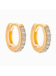 Серьги-кольца - Кристальная дорога