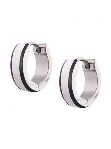Серьги-кольца - Округлые