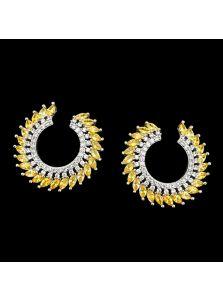 Серьги-кольца - Остроконечные