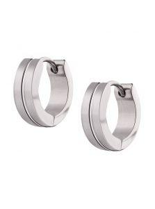 Серьги-кольца - Плавные