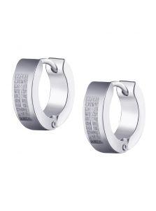 Серьги-кольца - Спаси и сохрани