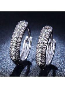 Серьги-кольца - Утонченные