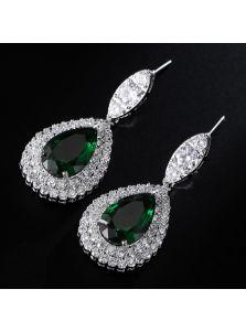 Серьги - Кристалл для невесты