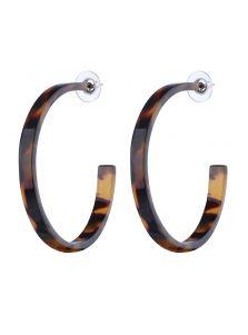 Серьги - Леопардовое кольцо