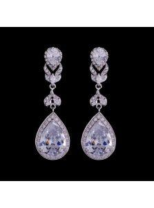 Серьги на свадьбу - Алмазные