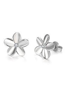 Серьги пуссеты - Нежный цветок