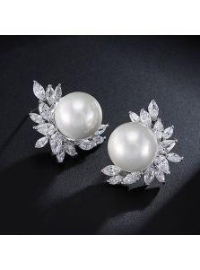 Серьги с жемчугом - Из перлов