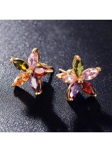 Серьги - Цветочный блеск