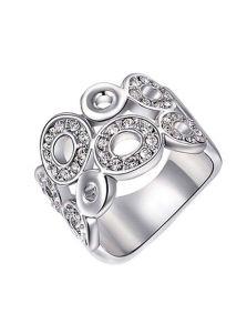 Широкое кольцо - Круглые элементы