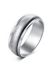 Стальное кольцо - 3D-эффект