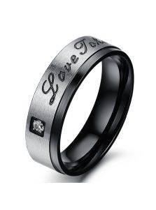 Стальное кольцо - Знак любви