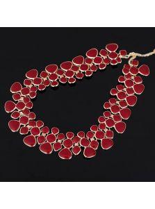 Стильное ожерелье - Рельефное