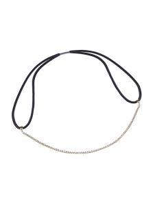 Свадебная повязка - Металлический орнамент