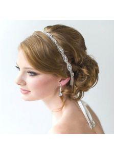 Свадебная повязка - На ленте
